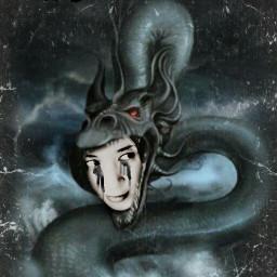 dark art darkart dragon art fantasy