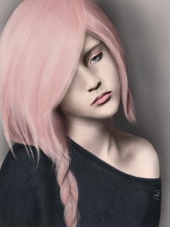 drawing sadness sad artistic woman