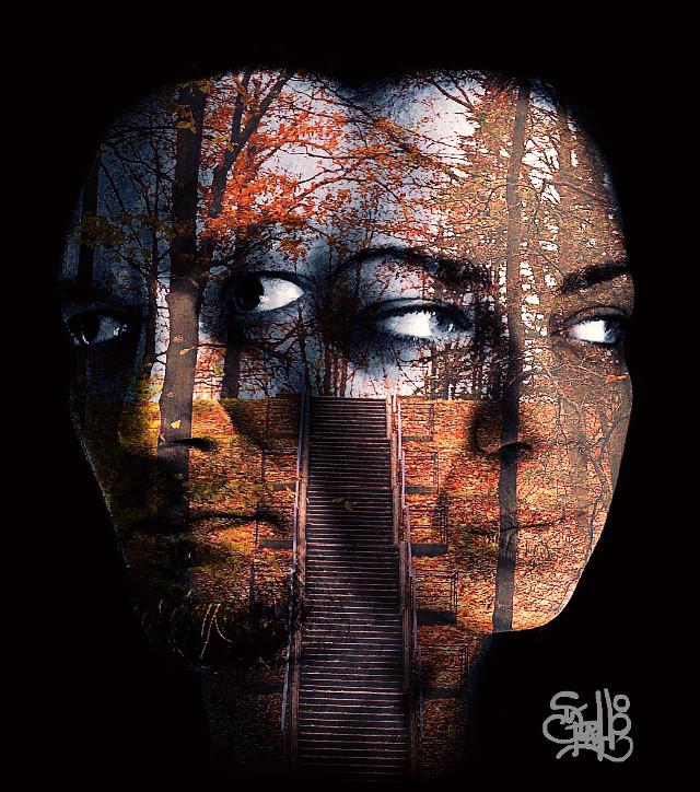 "#art #abstract #artistic #artisticselfie #beautifypicsart @menina79+ me + @liliakukina   ""metaphor"""