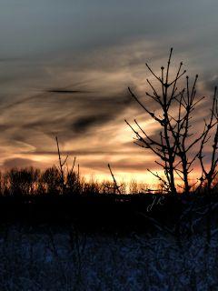 missing sunset nature winter pho