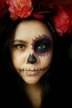 halloween halloween2015 dayofthedead sugarskull