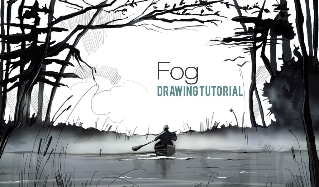 fog drawing tutorial