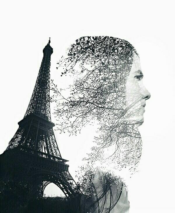 Paris.  #doubleexposure  Follow me on instagram: hussameissaa
