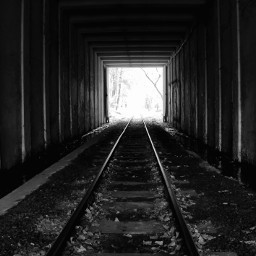 blackandwhite emotions rail