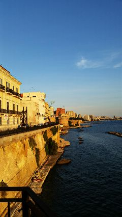 taranto italy city seafront colorful