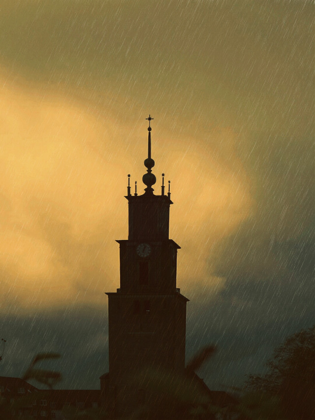 #texturemask  #church  #tower #photography  #warmcolor