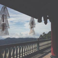 temple pray mountaintop genting malaysia