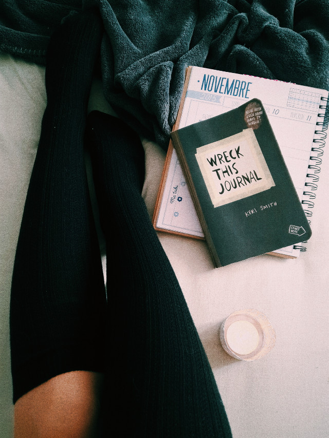 Good day to feel cosy loveu #cosy #wreckthisjournal #candle #working #newfeed #tumblr #cahuetteandcamera #frenchie