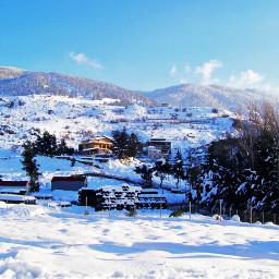 snow cold w white winter