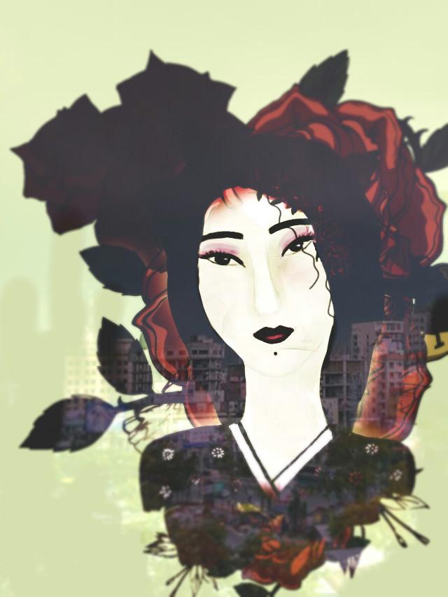 #portrait #drawing #woman