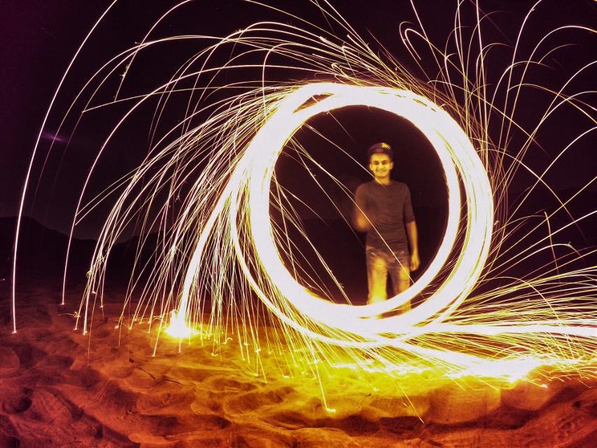 #bokeh #nature #night #fire #desert #mydubai #hdr