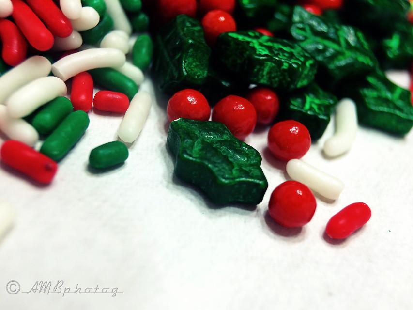 Merry Christmas  #redandgreen #christmas #christmascandy #macro