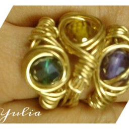 wirejewelry newdesign fashion rings