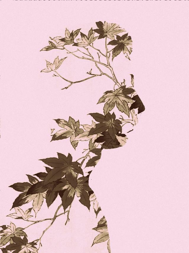 My silhouette  (again) with Japanese print (again) !