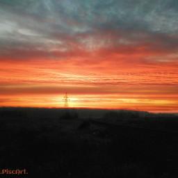 poland sky morning beautifullive nature