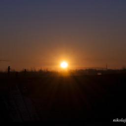 winter kamchatka sun morning cold