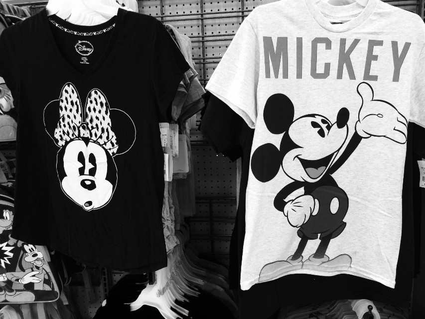 Don't act so surprised Minnie  . #florida #iphonephotography #iphone6plus #blacknwhite #snap #mickeyandminnie