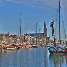 sailboats blue sky travel emotions