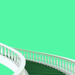 minimal minimalist minimalism stairs green