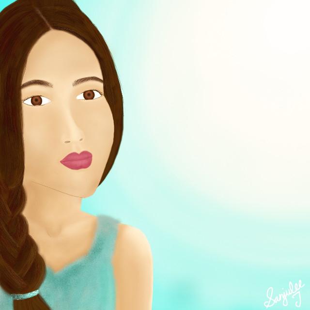#wdpportrait #digitaldrawing #potrait #girl #drawing #digitalpotrait