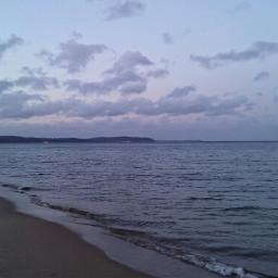 sea poland hdr beach