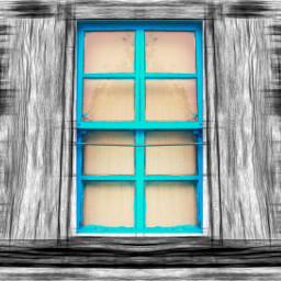 pencileffect colorpop cyan window dailyinspirationpupsy