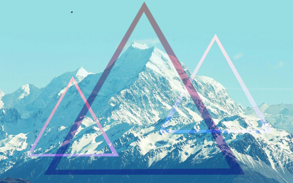 Download Wallpaper Mountain Triangle - 189525786002202  Best Photo Reference_376542.jpg?r1024x1024