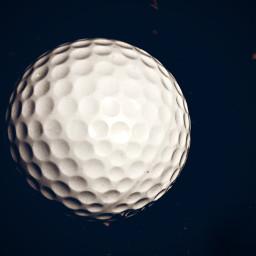 white golfball