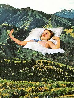 collageart vintage retro collage