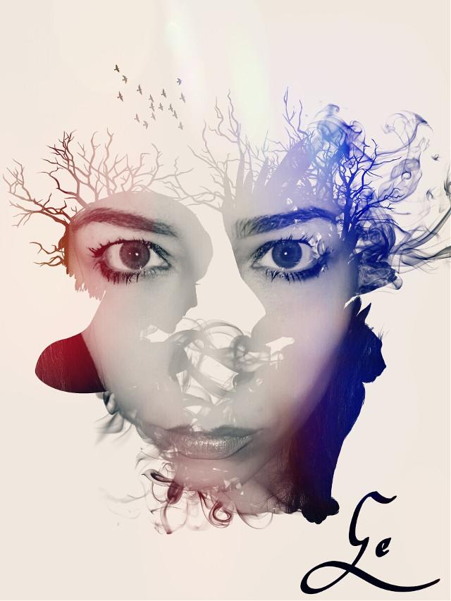 #illustration #portrait #surreal #eyes #face #undefined