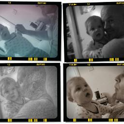 love myboyz baby popart daddyandson