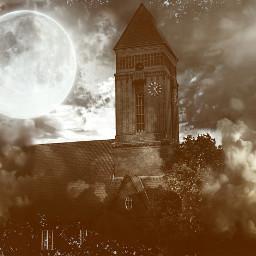 moon dark art church sadsongs
