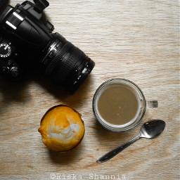 breakfast muffin coffee morning