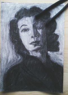 drawing emotions blackandwhite