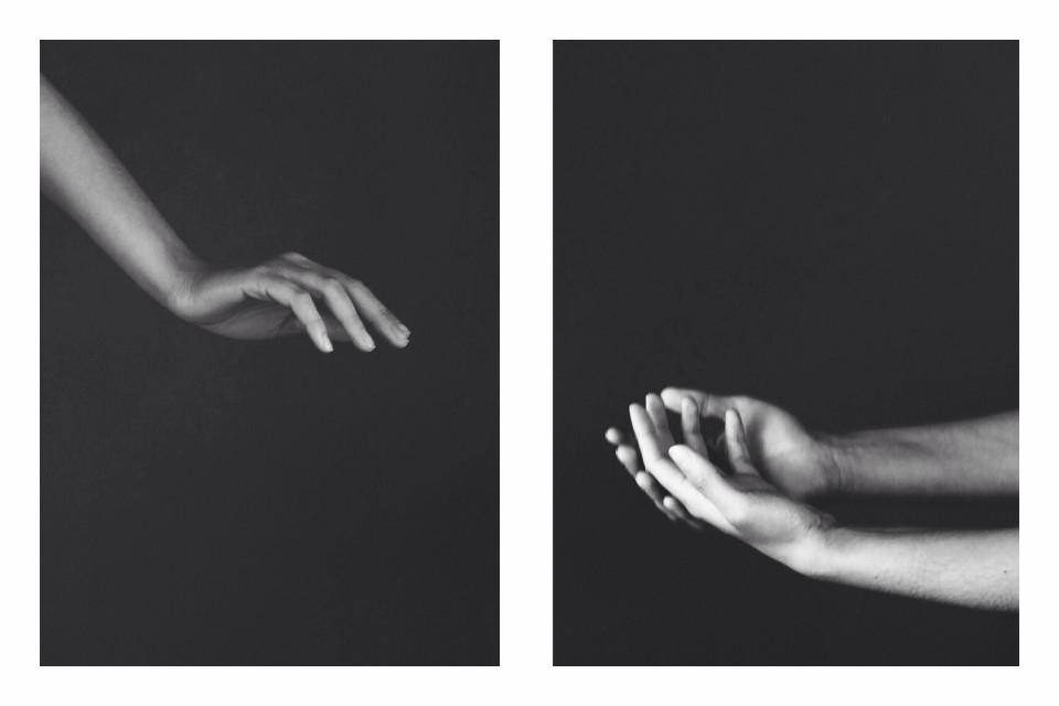 #diptych #blackandwhite #simple  Original by @arevdanielian