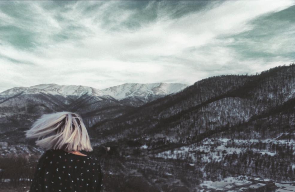 #wild #soul #wind #action #move #whitehair #girl #armenia #nature #landscape #grunge #majestic #freetoedit