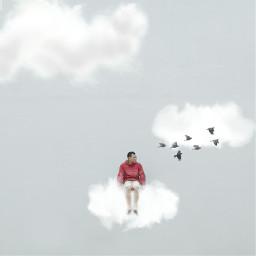 madewithpicsart minimalis minimalism minimalist cloud