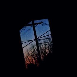 window gradient colorful art persepective
