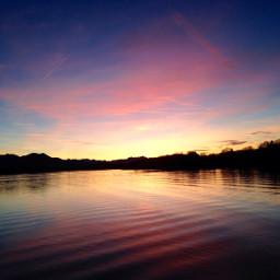 chiemsee sunset wppcolorful freetoedit pcworldphotoday pcbluehour