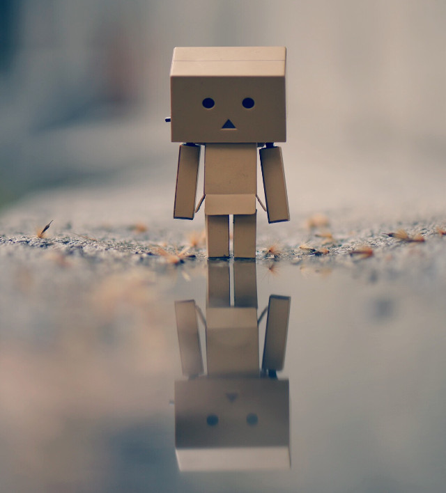 #reflection #emotions #rain #toys #sadness