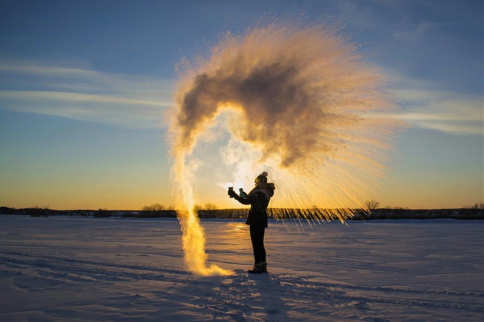 #cold  #winter  #water  #snow #vapor #frozen
