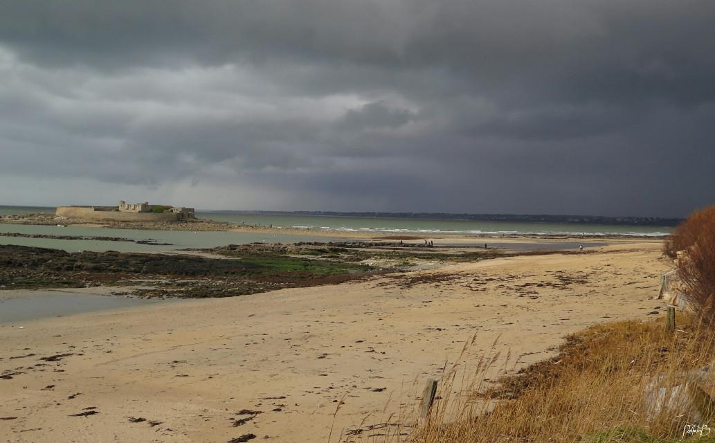 #beach   #rain