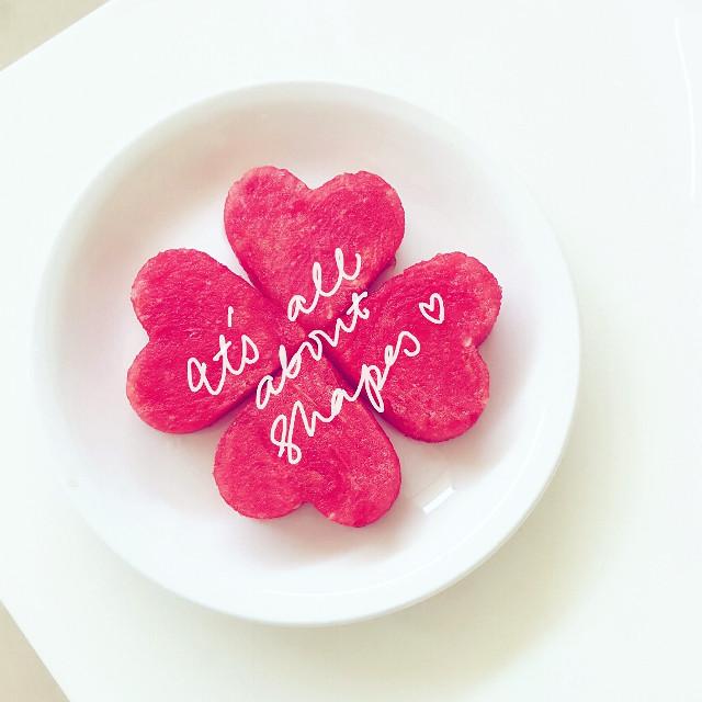 #watermelon #fruit #heart #sweet