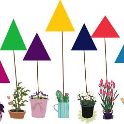 flowerarrangement flowerpots