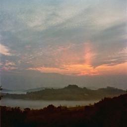 wppfog italy sangimignano sunrise hills