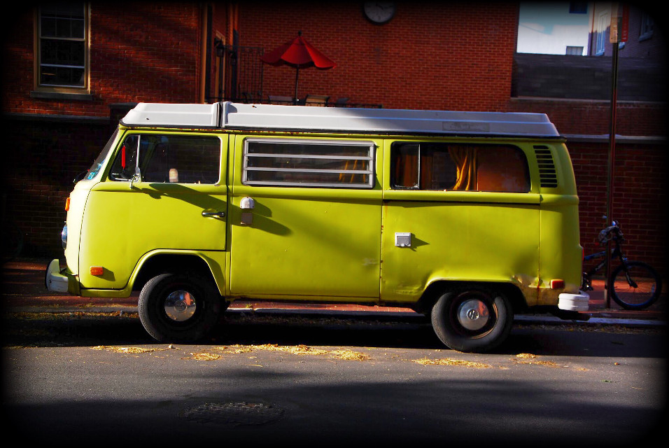 VW -  Enough said....  #VintageFinds #bus #volkswagon #green #emotions #love