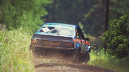 cars motorsport rally scotland
