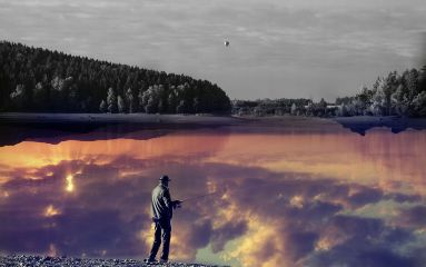 surreal montage people photography nature
