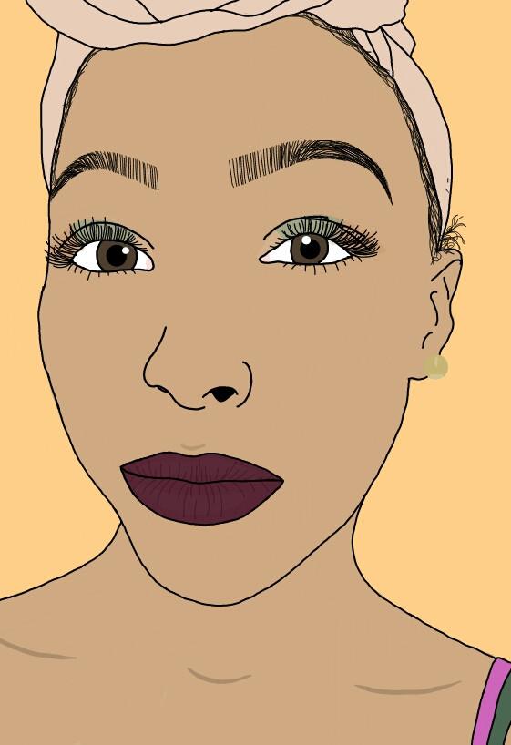 Finally drew myself 😭