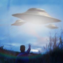 ufo ovni strange guy alone